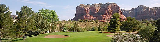 golfing in Sedona, golf courses