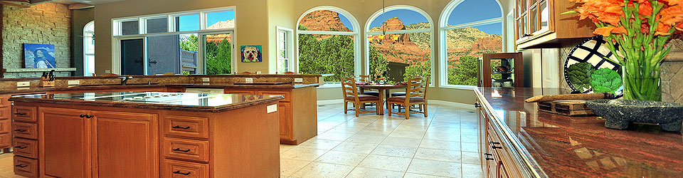 luxury home kitchen, Sedona