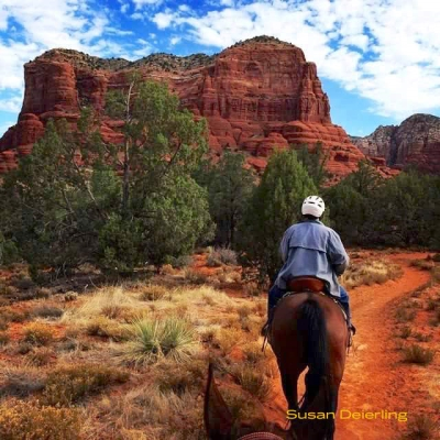 Horse Back Rdining in Sedona